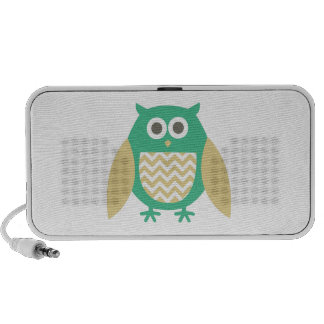 Hoot Owl Mp3 Speakers