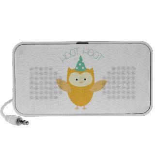 Hoot Owl Notebook Speakers