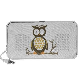 Hoot Owl Laptop Speakers