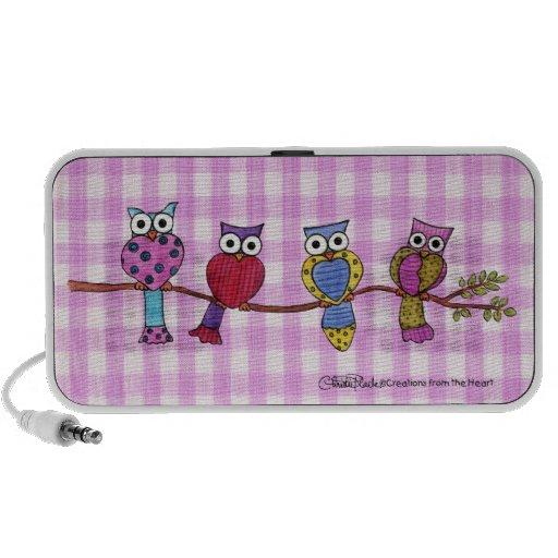 Hoot Owls Mp3 Speakers