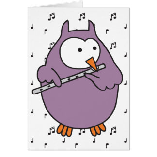 Hooter Fluter Greeting Cards