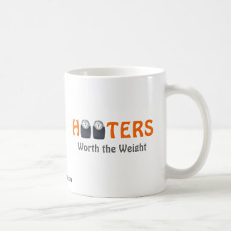 Hooters:  Worth the Weight Basic White Mug