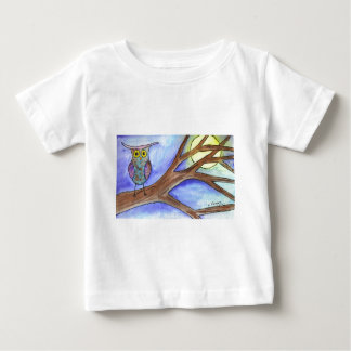 Hooting at the Moon Baby T-Shirt