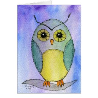 Hoots the Owl Card