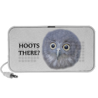 HOOTS THERE!  Owl PC Speakers