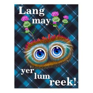 Hoots Toots Haggis. Lang may yer lum reek! Postcard