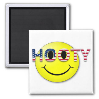 Hooty Square Magnet
