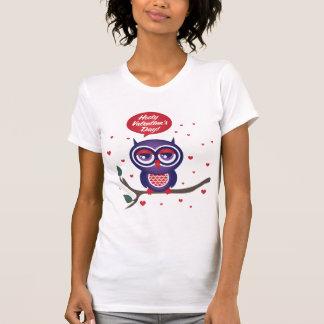 Hooty Valentine s Day T-shirt