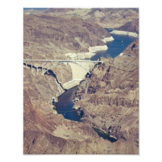 Hoover Dam Aerial Photograph
