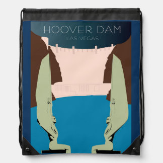 Hoover Dam Drawstring Backpack