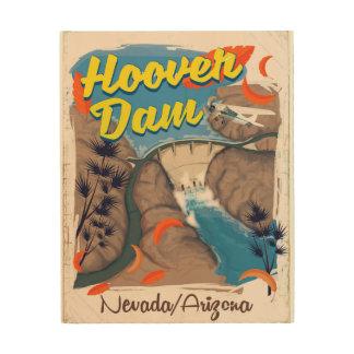 Hoover Dam Nevada/Arizona travel poster