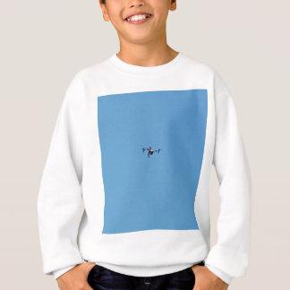 Hoovering Drone Against Blue Sky Simplicity Sweatshirt