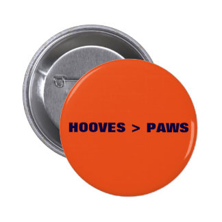 HOOVES > PAWS 6 CM ROUND BADGE