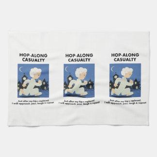 Hop-Along Casualty - Wait till my Hip Replacement Tea Towels