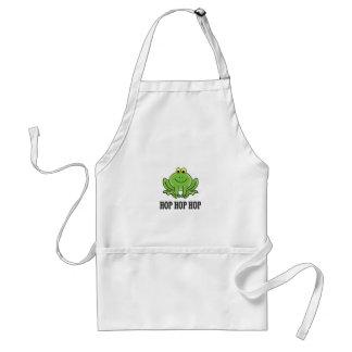 Hop hop hop frog standard apron