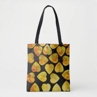 Hop Leaf Pattern Tote Bag