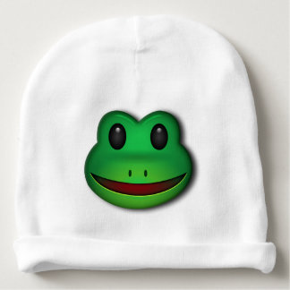 Hop on over to check out this Frog Design Baby Beanie