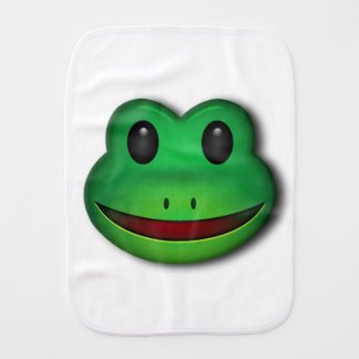 Hop on over to check out this Frog Design Burp Cloth