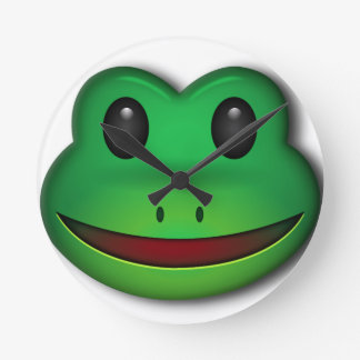 Hop on over to check out this Frog Design Round Clock