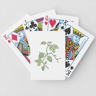 Hop Plant Climbing Drawing Bicycle Playing Cards