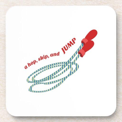 Hop Skip Jump Drink Coaster