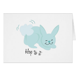 Hop To It Card