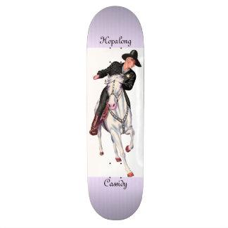 Hopalong Cassidy Custom Skateboard