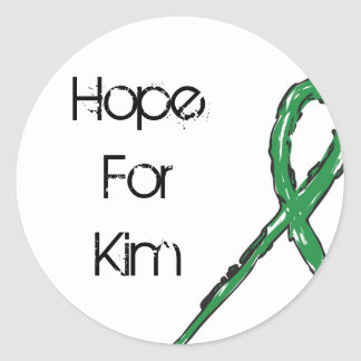 Hope4Kim Circle Stickers (Sheets of 20)