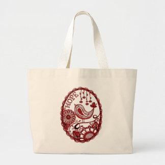 Hope 2 1 large tote bag