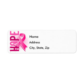 Hope 2 Breast Cancer Return Address Label