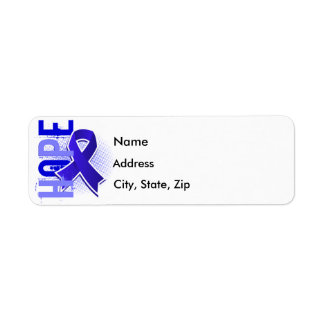 Hope 2 CFS Chronic Fatigue Syndrome Return Address Label
