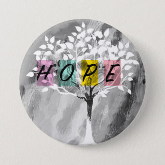 Hope 7.5 Cm Round Badge