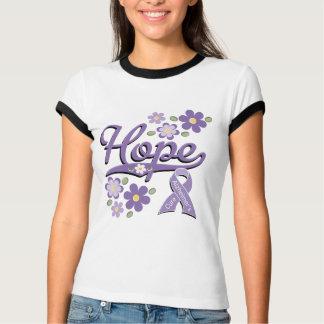 Hope Alzheimers Ringer T-shirt