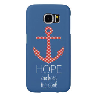 Hope Anchor Samsung Galaxy S6 Cases