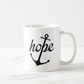 Hope Anchors The Soul (Hebrews 6:19) Coffee Mug