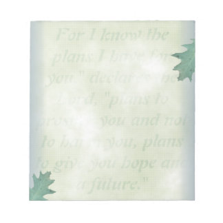 Hope and A Future, Christian Note Paper