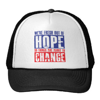 Hope and Change Cap
