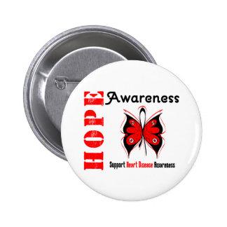 Hope Awareness HEART DISEASE Pins