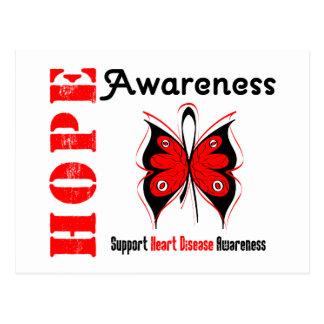 Hope Awareness HEART DISEASE Postcard