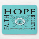 Hope Believe Faith - Interstitial Cystitis Mouse Pad