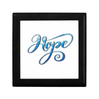 HOPE BRUSH LETTERING CALLIGRAPHY GIFT BOX