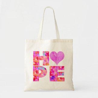 Hope Budget Tote Bag