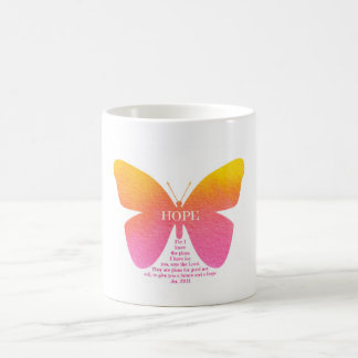 Hope Butterfly Jeremiah 29 Mug