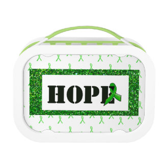 Hope & Butterfly Lyme Awareness Lunch Box