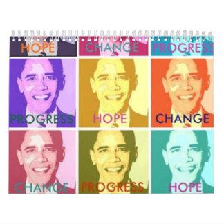 HOPE & CHANGE CALENDAR - Customized