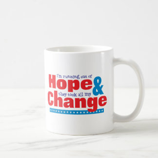Hope & Change Mugs