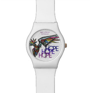 Hope Collection: Time/Peace Wrist Watches
