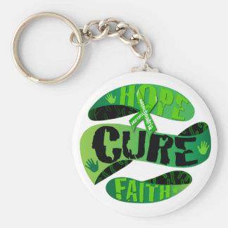 Hope Cure Faith Key Ring