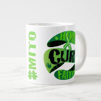 Hope Cure Faith Large Coffee Mug
