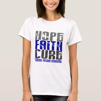 Hope Faith Cure CFS Chronic Fatigue Syndrome T-Shirt